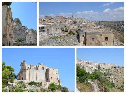 Vista sulla città di Matera